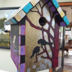 Contributed photo A birdhouse, painted by local artist Paul McNamara, is one of 145 birdhouses that will be auctioned off at There's No Place Like Home, a fundraiser for Syrian refugee families on Tuesday, March. 29.
