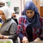 syrian-women-refugees-prepare-food-mount-pleasant-neighbourhood-house